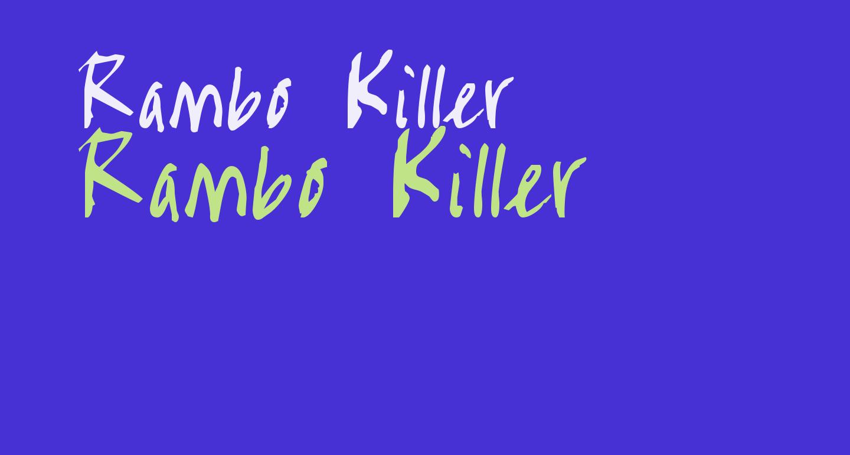 Rambo Killer