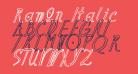 Ramon Italic