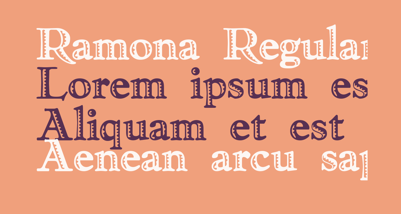 Ramona Regular