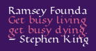Ramsey Foundational Bold