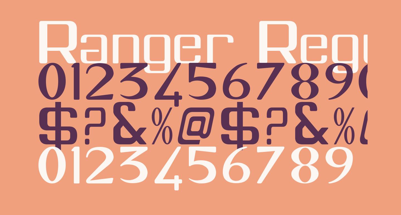 Ranger Regular
