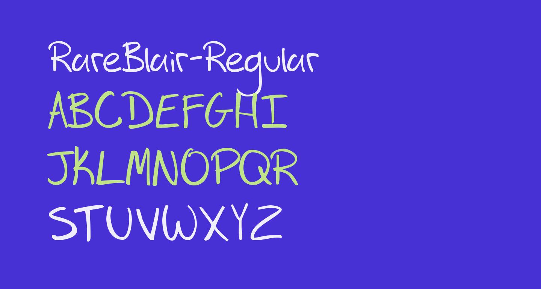 RareBlair-Regular
