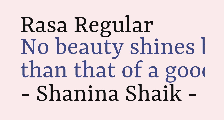Rasa Regular