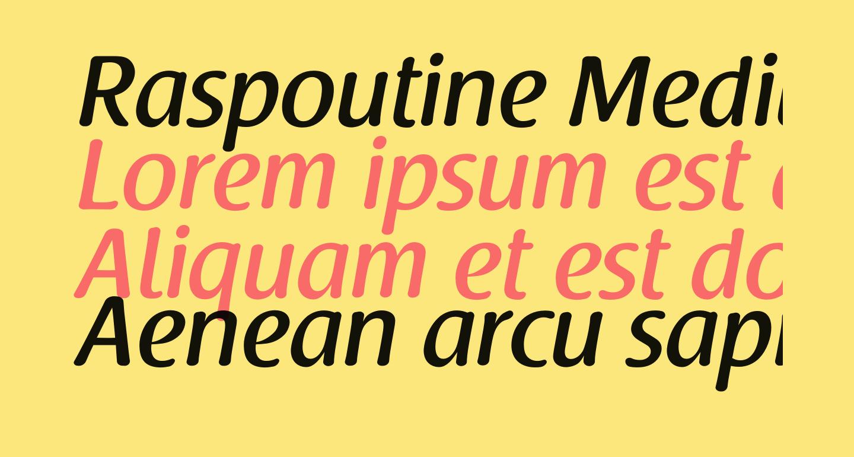 Raspoutine Medium
