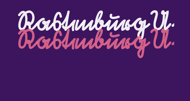 RastenburgU1SY-Bold