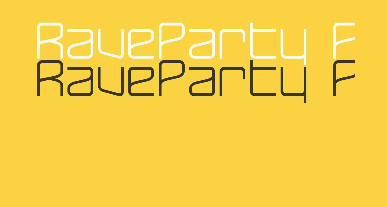 RaveParty Poster