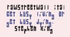 RawStreetWall Italic