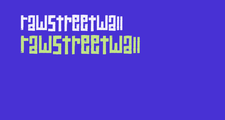 RawStreetWall