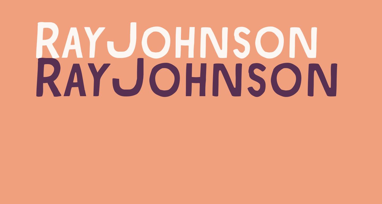 RayJohnson