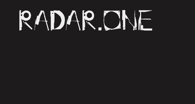 radar.one