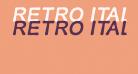 RETRO ITALICS