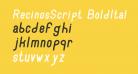 RecinosScript BoldItalic Regular