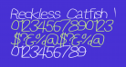 Reckless Catfish Wide Italic