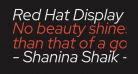 Red Hat Display It