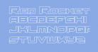 Red Rocket Outline Regular