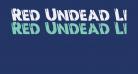 Red Undead Leftalic