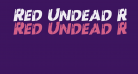 Red Undead Rotalic