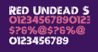 Red Undead Shift