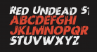 Red Undead Staggered Rotalic