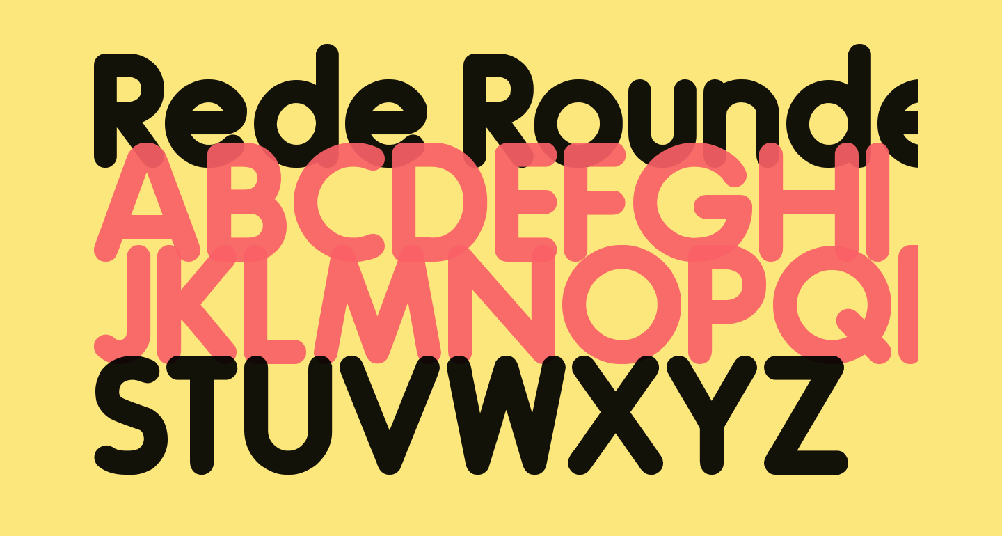Rede Rounded F99