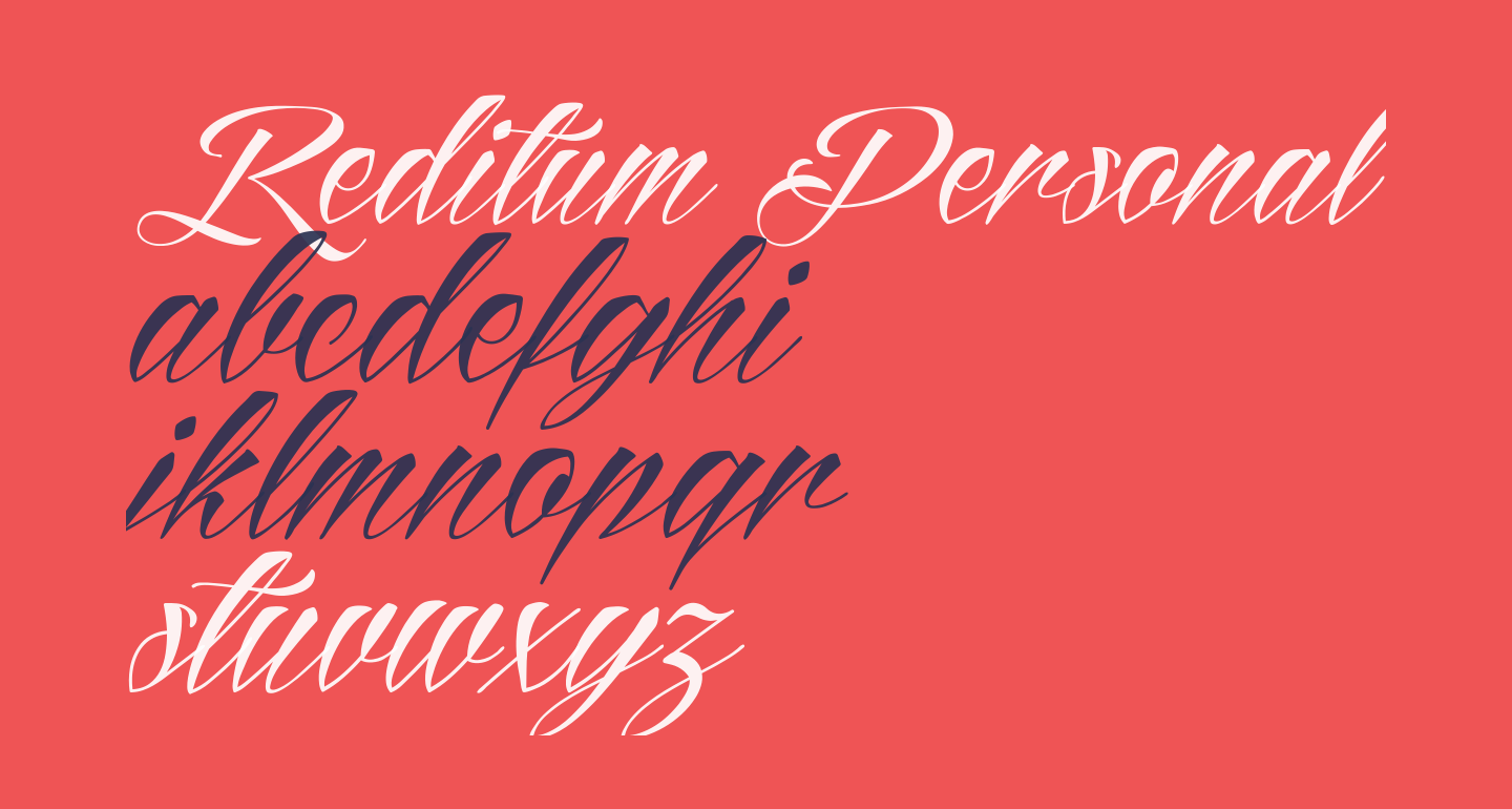 Reditum Personal Use Only