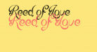 Reed of Love