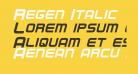 Regen Italic
