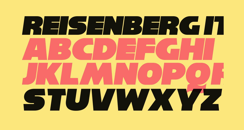 Reisenberg Italic