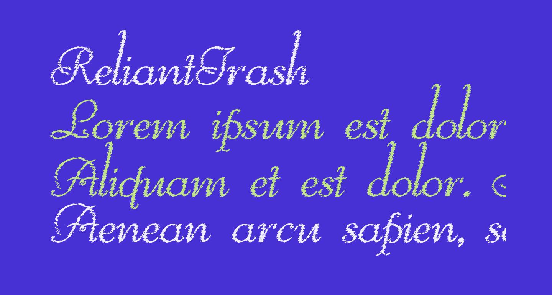 ReliantTrash