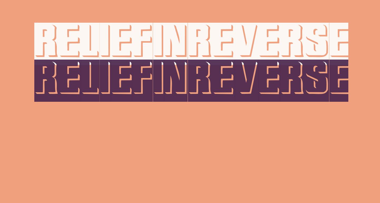 ReliefInReverse