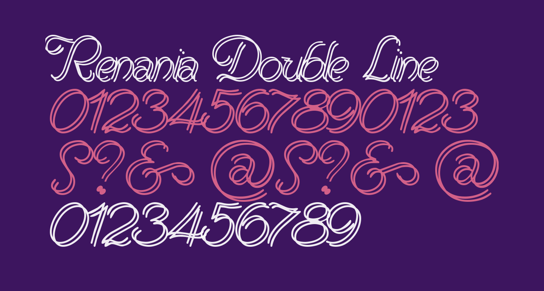 Renania Double Line