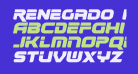 Renegado Italic