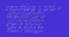 Republika II Cnd - Sketch Italic