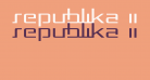 Republika II  Exp - Light