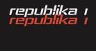 Republika IV Exp Bold Italic