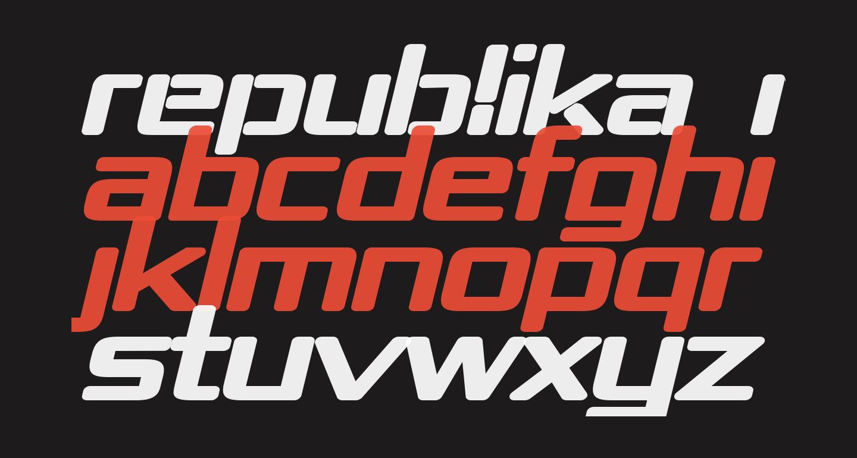 Republika IV Exp - Ultra Italic