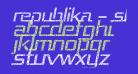 Republika - Shatter Italic