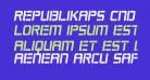 Republikaps Cnd Bold Italic