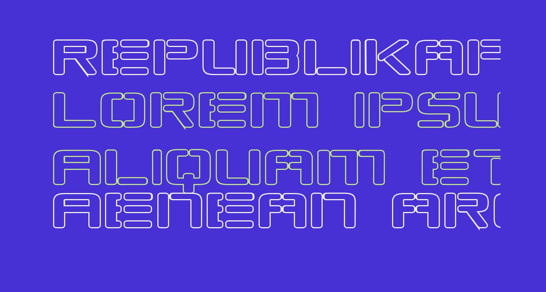 Republikaps Exp - Outline