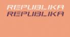 Republikaps Exp - Shatter Italic