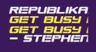 Republikaps Exp - Ultra Italic