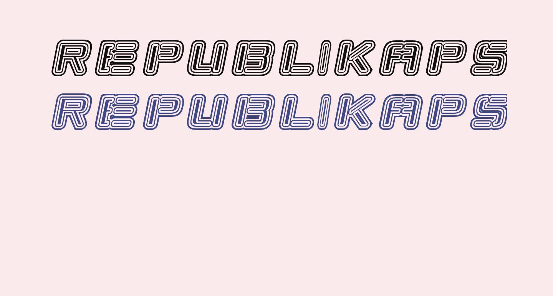 Republikaps - Maze Italic