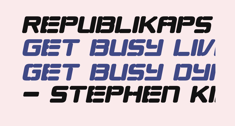 Republikaps - Ultra Italic