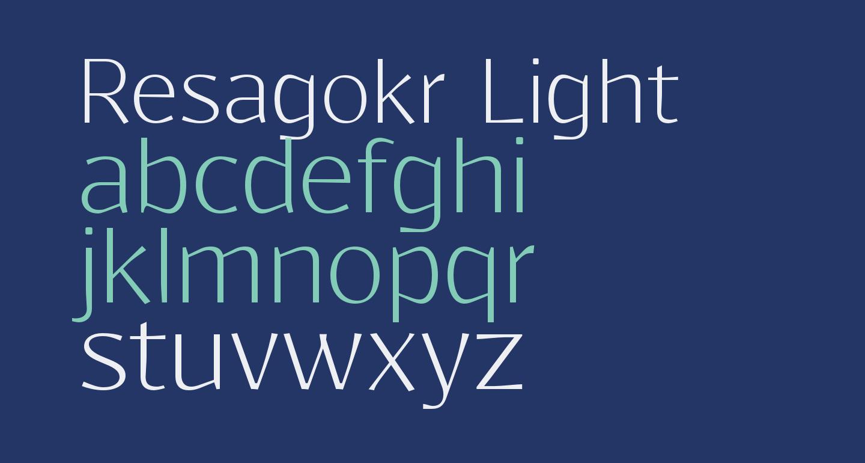 Resagokr Light