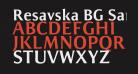 Resavska BG Sans Bold