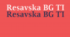 Resavska BG TT-Bold