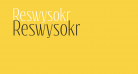 Reswysokr
