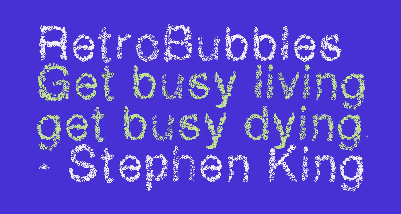 RetroBubbles