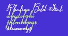 Rhalina Bold Italic
