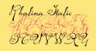 Rhalina Italic